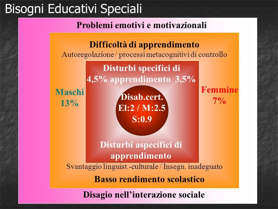 Disturbi Specifici di Apprendimento Dislessia Disgrafia Disortografia Discalculia Disturbo dattenzione con iperattività