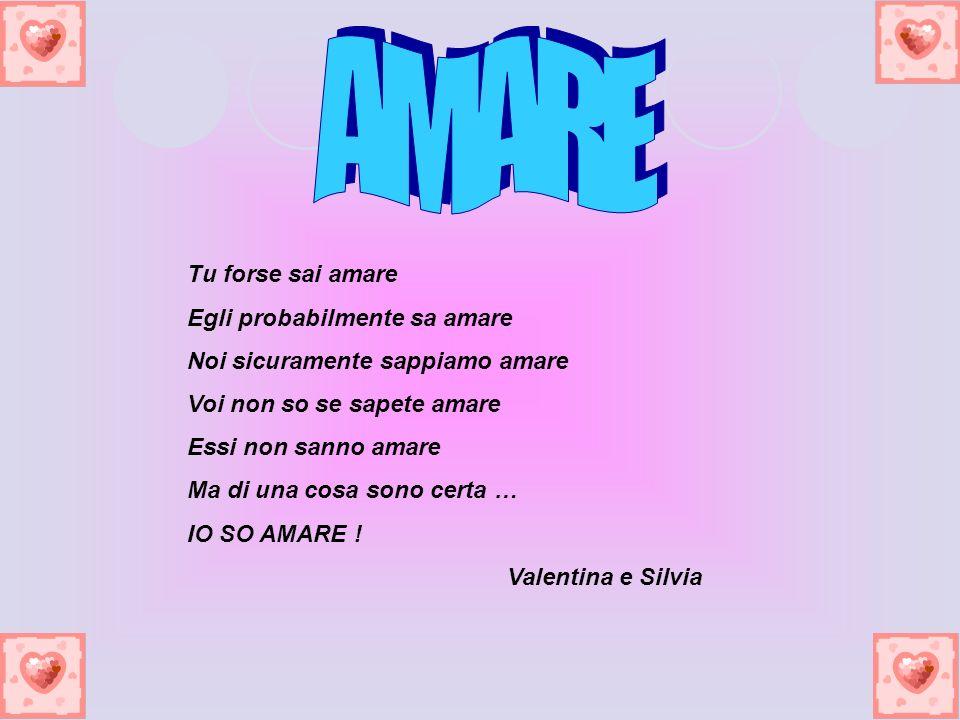 L amore L amore fa rose Candide e silenziose Che scendono pian piano Nel cuore Delle persone che dicono T Amo.