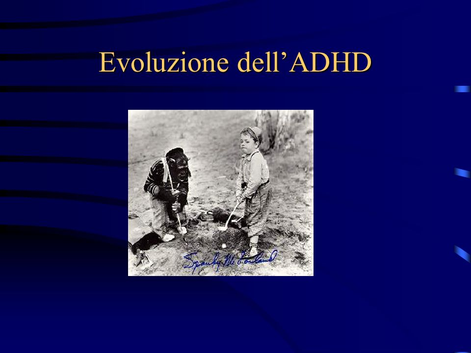 Evoluzione dellADHD