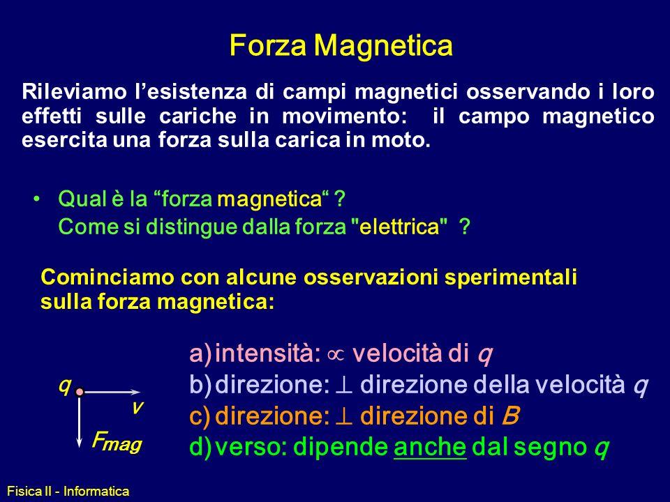 Fisica II - Informatica linee campo: Elettrico vs Magnetico Analogie –La densità ne rivela lintensità –Le frecce danno la direzione uscente +, Nord en