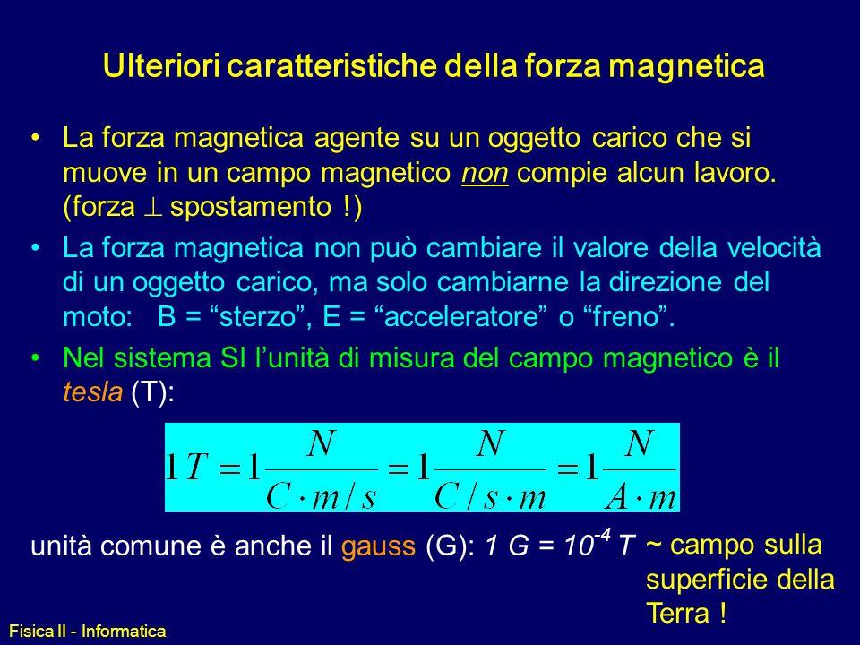 Fisica II - Informatica Esempio 2 Due protoni si muovono ciascuno alla velocità v (vedi figura) verso una regione di spazio dove è presente un campo m