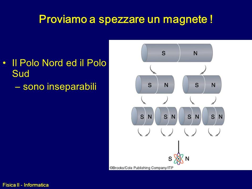 Fisica II - Informatica Esempio 2 Due protoni si muovono ciascuno alla velocità v (vedi figura) verso una regione di spazio dove è presente un campo magnetico costante B diretto lungo -z -.