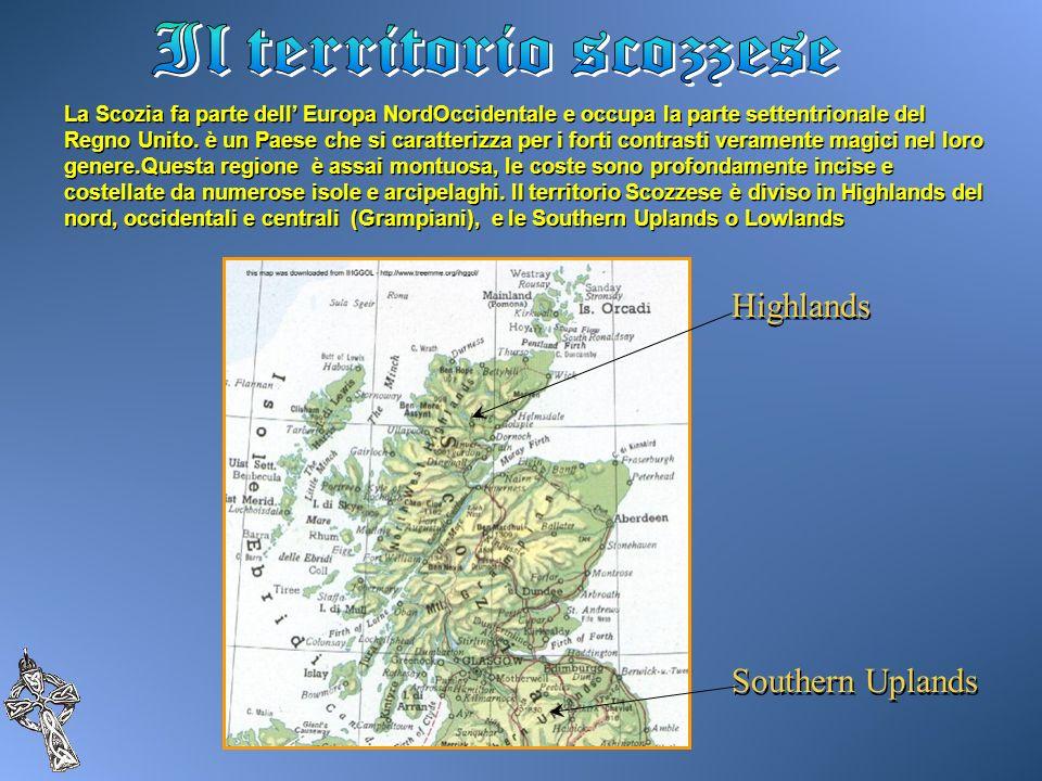 La Scozia fa parte dell Europa NordOccidentale e occupa la parte settentrionale del Regno Unito. è un Paese che si caratterizza per i forti contrasti