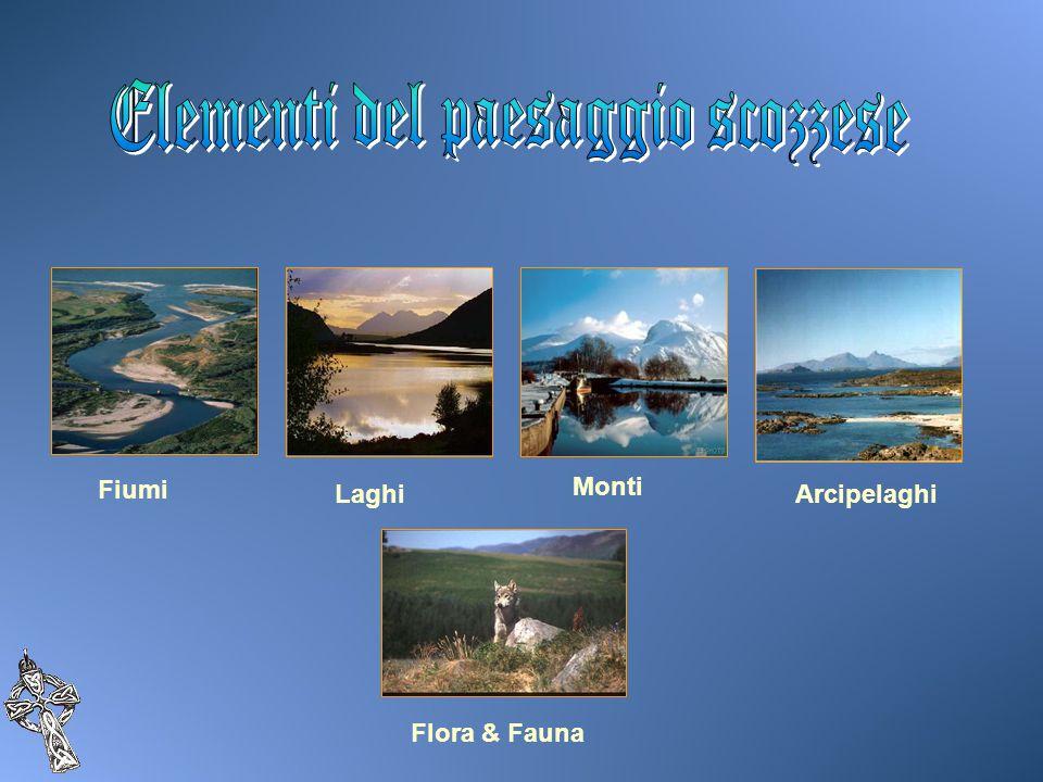 Fiumi LaghiArcipelaghi Monti Flora & Fauna