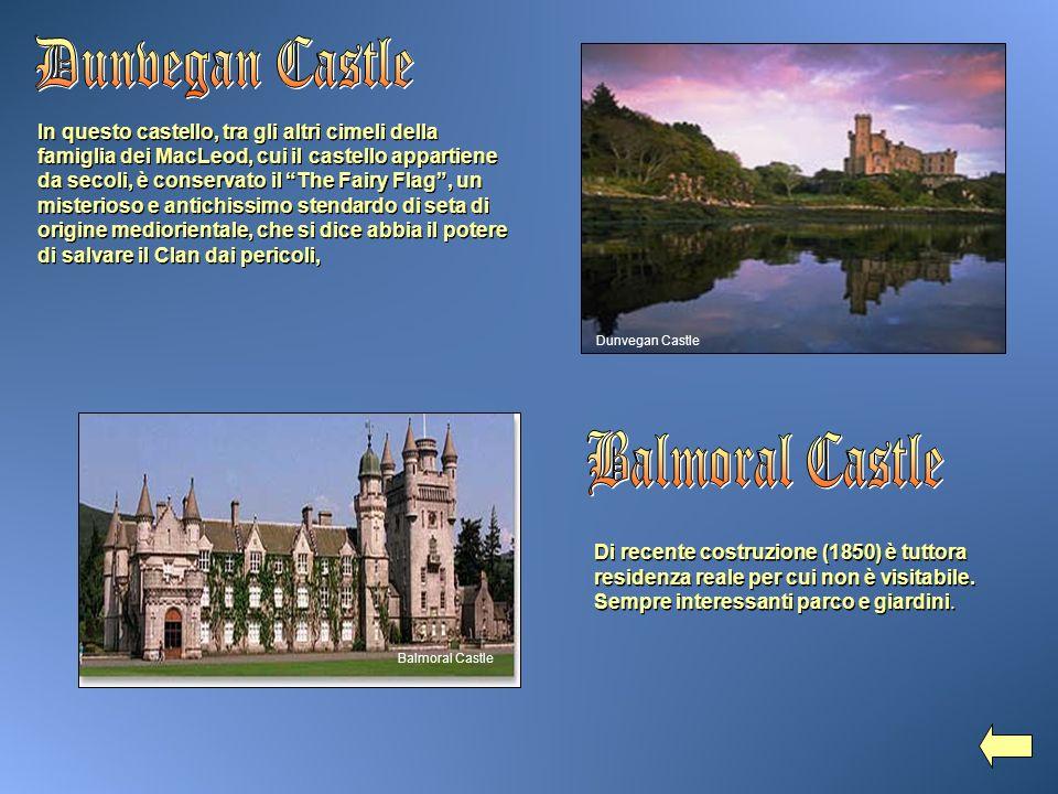 In questo castello, tra gli altri cimeli della famiglia dei MacLeod, cui il castello appartiene da secoli, è conservato il The Fairy Flag, un misterio