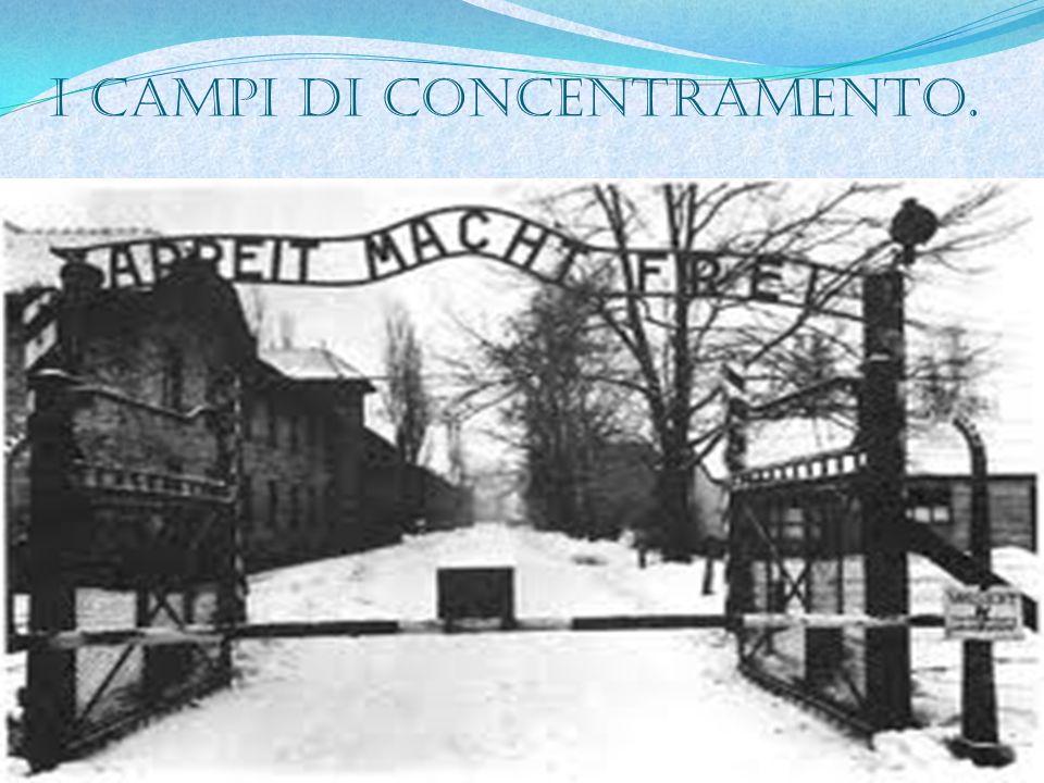 I campi di concentramento.