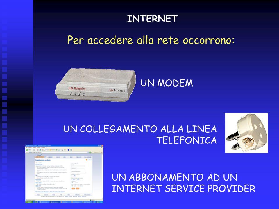 Storia di internet E importante capire che INTERNET e il WEB (WWW) non sono la stessa cosa: INTERNET è una rete di reti di computer che parlano un lin