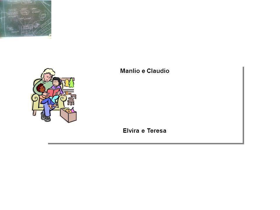 Manlio e Claudio Elvira e Teresa Manlio e Claudio Elvira e Teresa