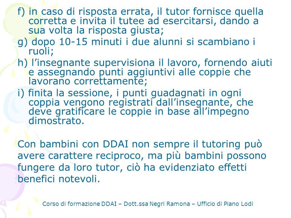 Corso di formazione DDAI – Dott.ssa Negri Ramona – Ufficio di Piano Lodi LAPPRENDIMENTO COOPERATIVO.