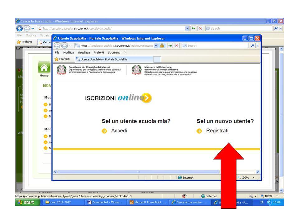 scaricare, stampare e compilare il modello e/o i modelli di iscrizione, Linvio del modello/i di iscrizione predisposto dalle scuole compilato manualmente dalla famiglia, può avvenire on line allinterno della medesima procedura Tale invio è ovviamente possibile, sempreché si disponga di un apparecchio scanner, effettuando il caricamento di file in formato PDF e/o JPEG; in caso contrario linvio può avvenire mediante trasmissione a mezzo fax o per via postale o a mezzo consegna diretta entro il termine ultimo per le iscrizioni.