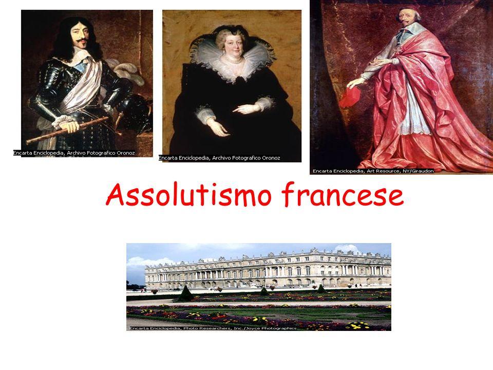 Versailles La FRANCIA era diventata una monarchia assoluta e Luigi XIV fece costruire vicino a Parigi una magnifica reggia Con le feste teneva buoni i nobili che per vivere a Versailles si indebitavano e diventavano dipendenti dal re.