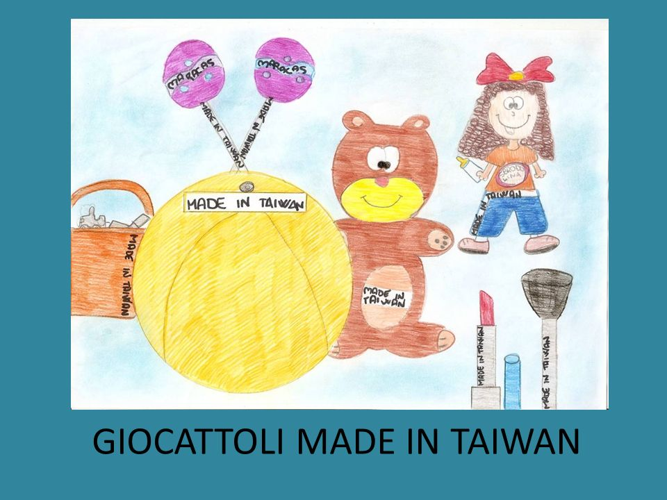 GIOCATTOLI MADE IN TAIWAN