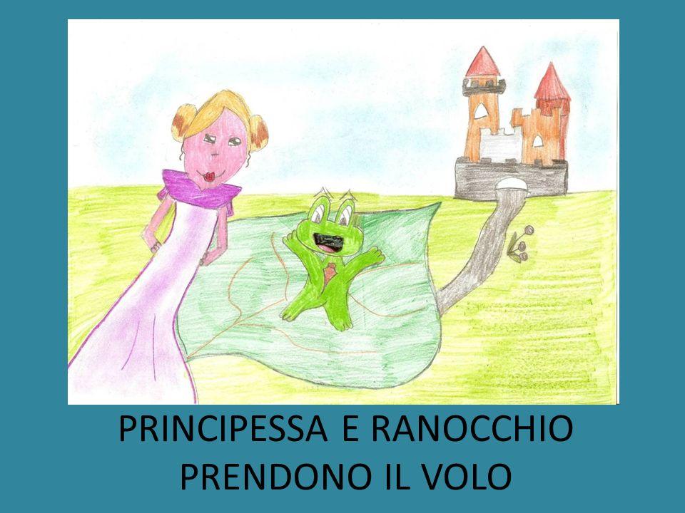 PRINCIPESSA E RANOCCHIO PRENDONO IL VOLO