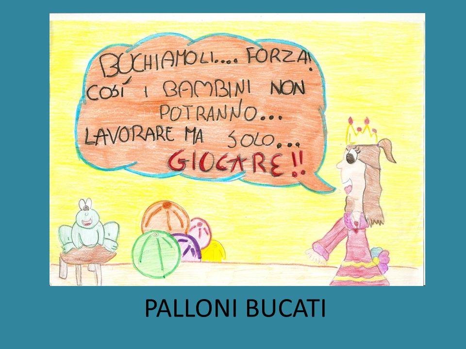 PALLONI BUCATI