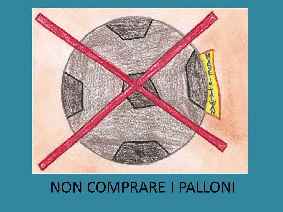 NON COMPRARE I PALLONI