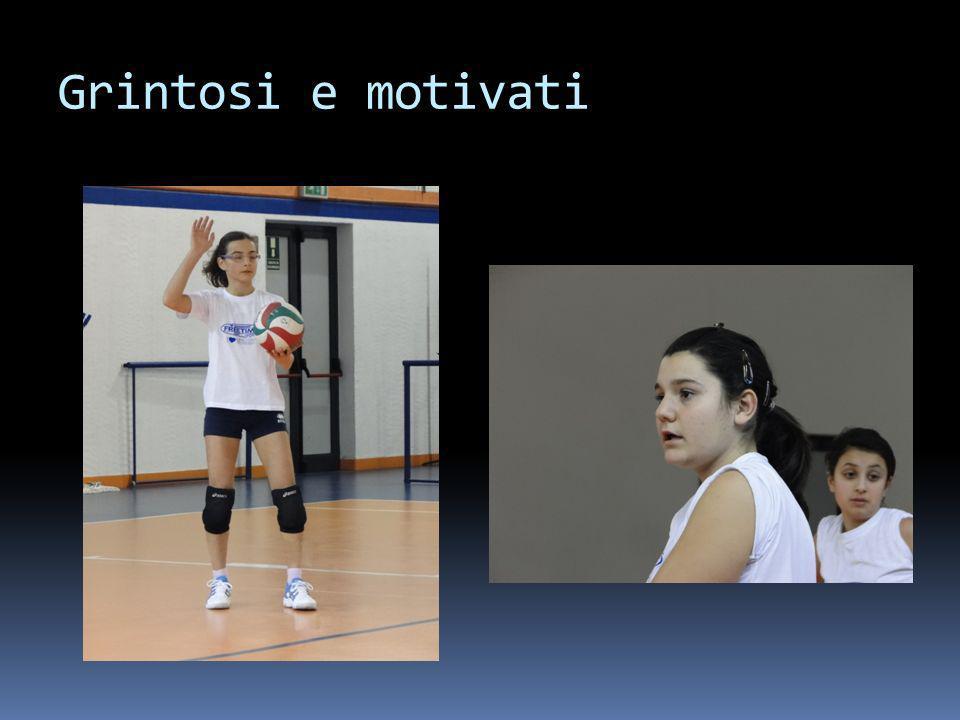 Grintosi e motivati