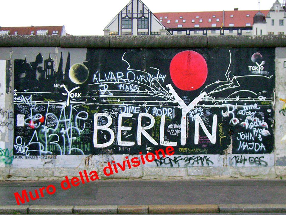 Il Muro ha diviso per ventotto anni la città di Berlino