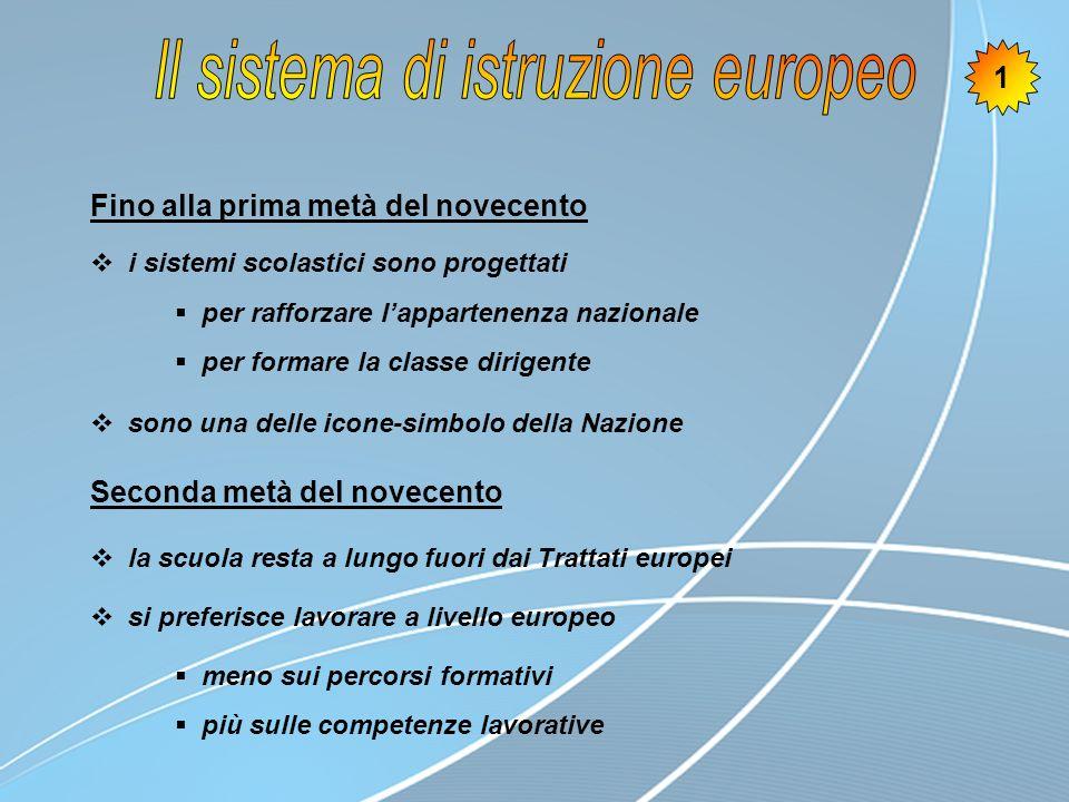 Esiste uno spazio europeo dellistruzione.