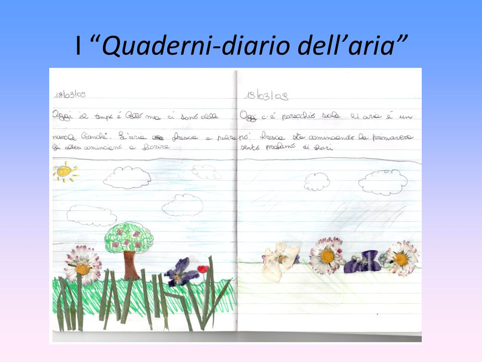 I Quaderni-diario dellaria