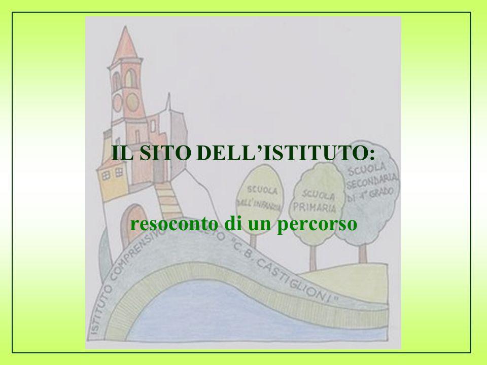 Commissione informatica 2008/2009 IL SITO DELLISTITUTO: resoconto di un percorso