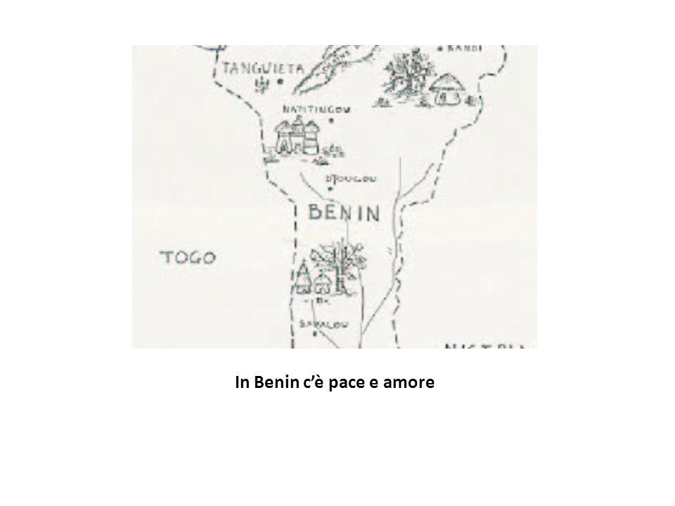 In Benin cè pace e amore