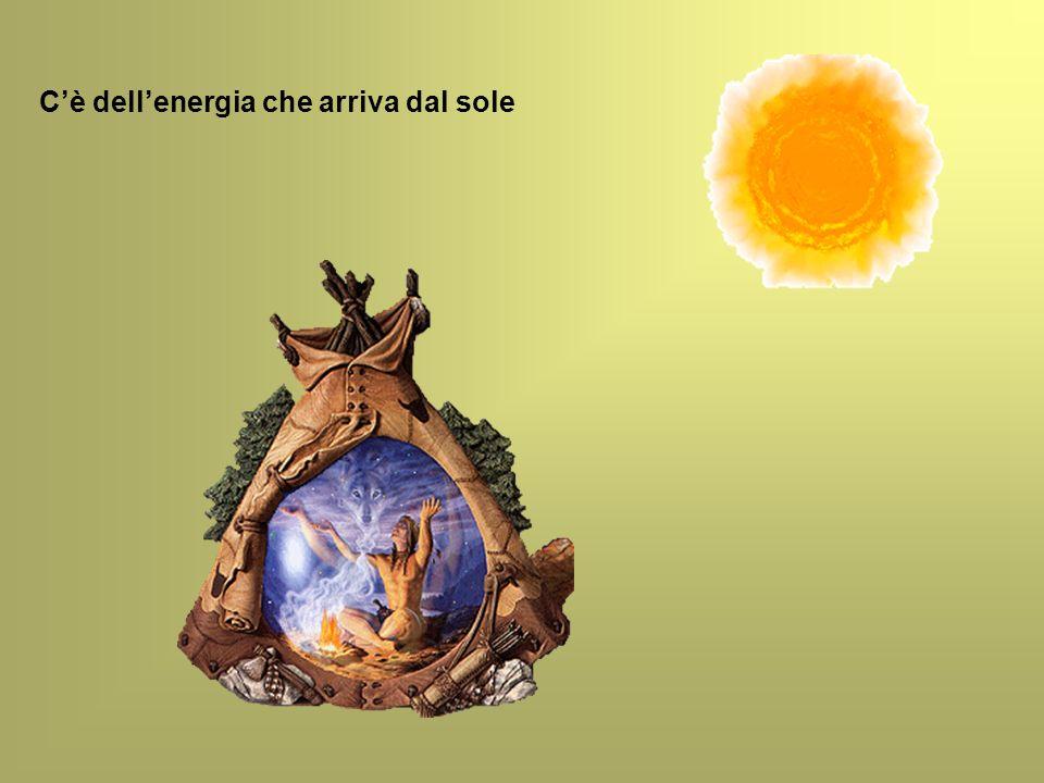 Cè dellenergia che arriva dal sole