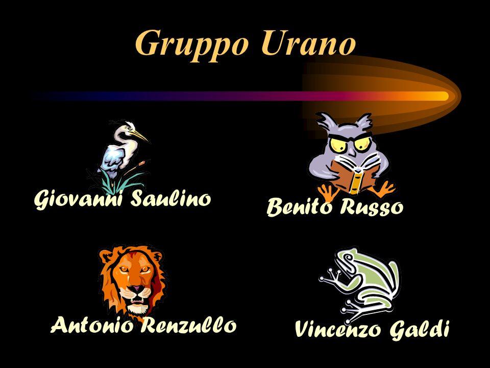 Gruppo Urano Antonio Renzullo Benito Russo Giovanni Saulino Vincenzo Galdi