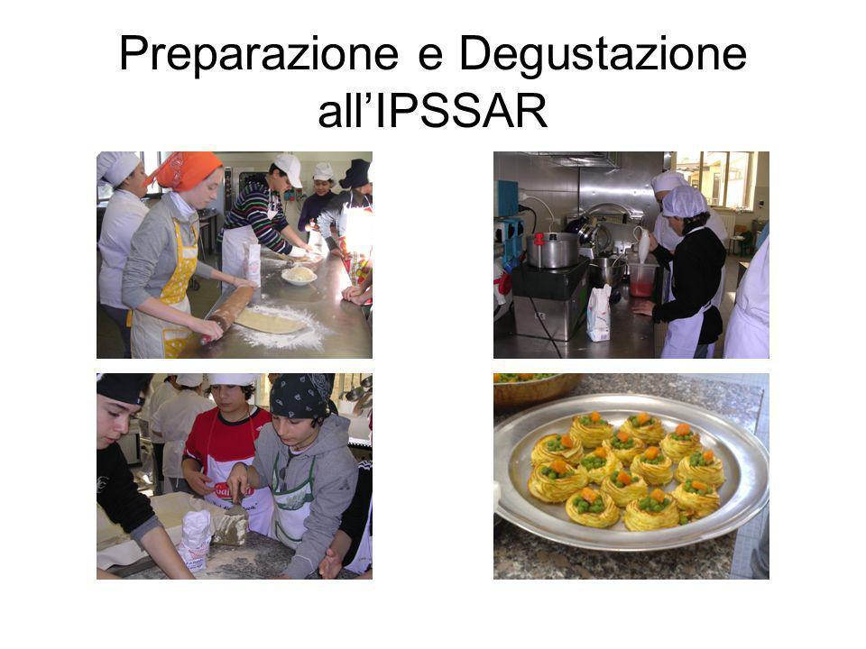 Preparazione e Degustazione allIPSSAR
