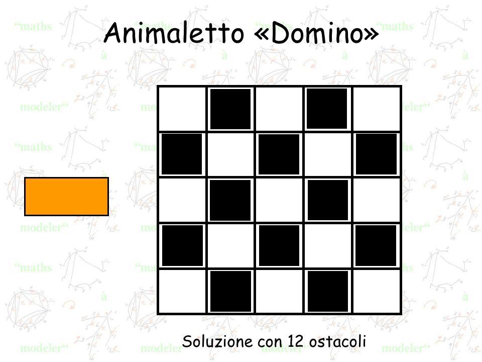 Animaletto «Domino» Soluzione con 12 ostacoli