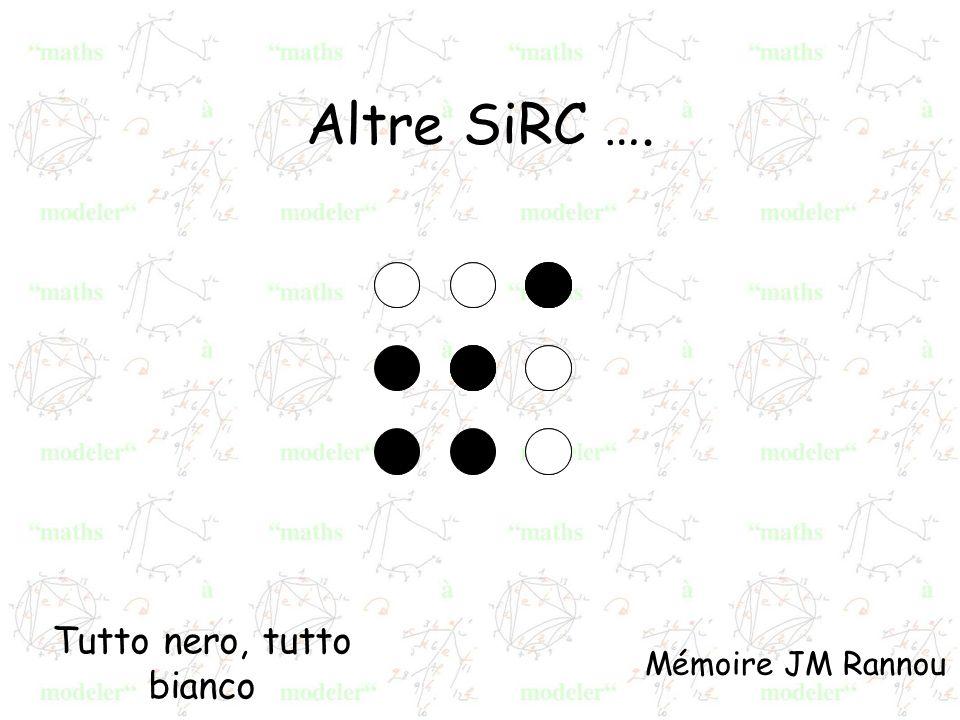 Tutto nero, tutto bianco Mémoire JM Rannou