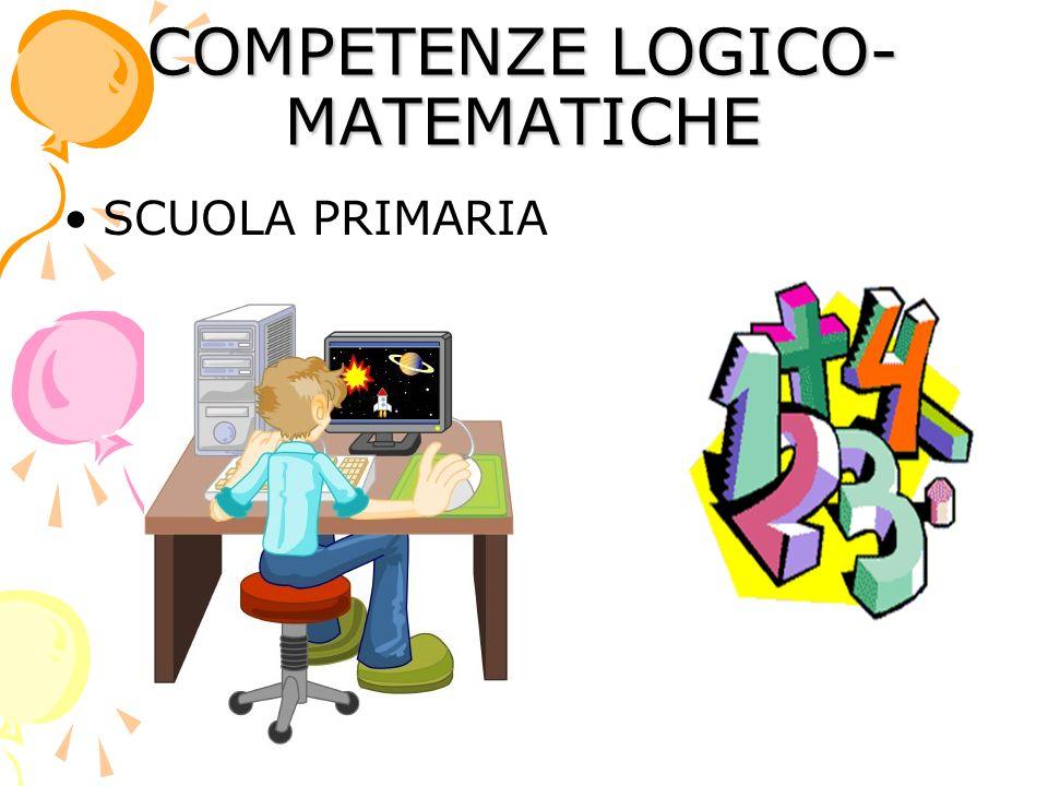 COMPETENZE LOGICO- MATEMATICHE SCUOLA PRIMARIA
