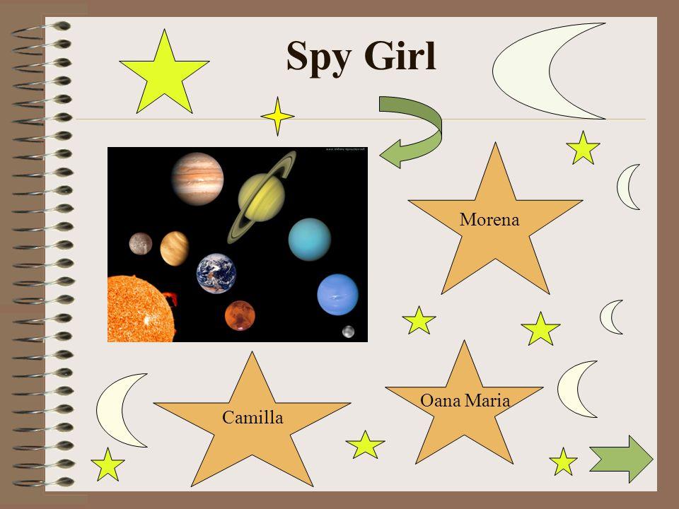 Morena Oana Maria Camilla Spy Girl