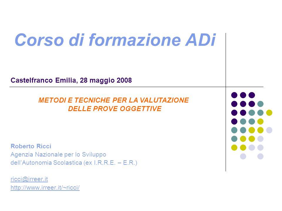 La ricerca OCSE-PISA (slide tratte da www.istruzioneer.it)
