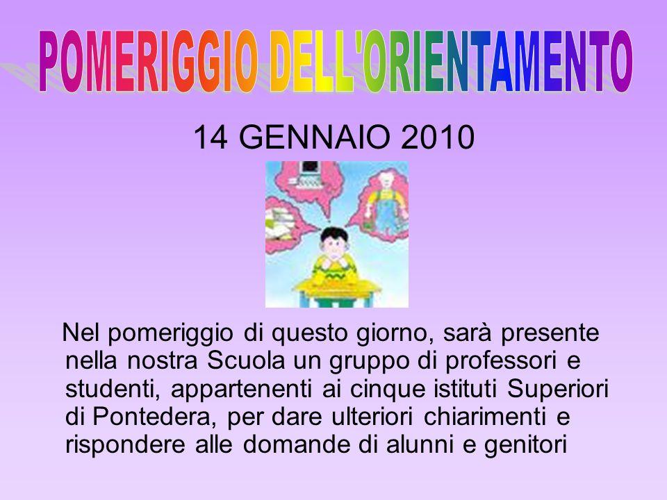 15 e 17 dicembre : visita all IPSSAR Matteotti – Pisa 18 dicembre : visita allIstituto A.Pesenti – Cascina 21 dicembre : visita allIstituto Statale d