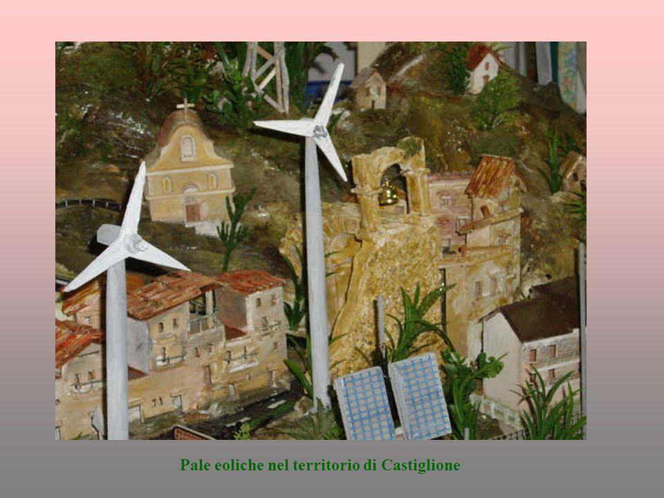 Pale eoliche nel territorio di Castiglione