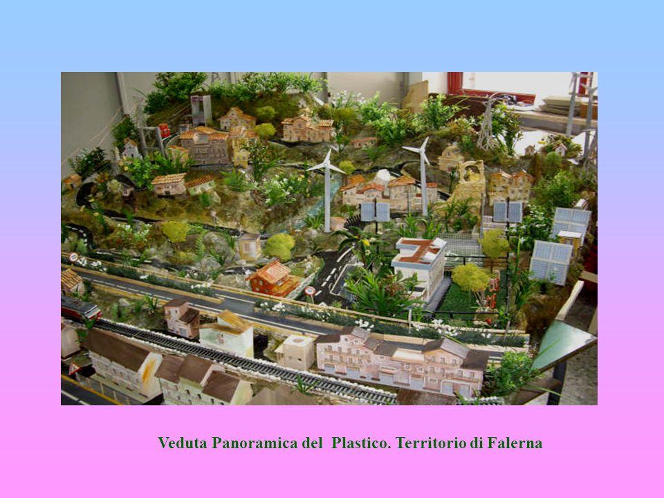 Veduta Panoramica del Plastico. Territorio di Falerna