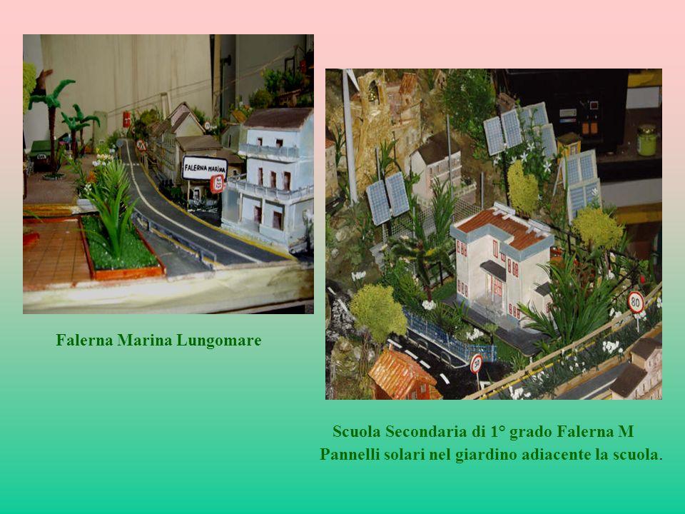 Falerna Marina Lungomare Scuola Secondaria di 1° grado Falerna M Pannelli solari nel giardino adiacente la scuola.
