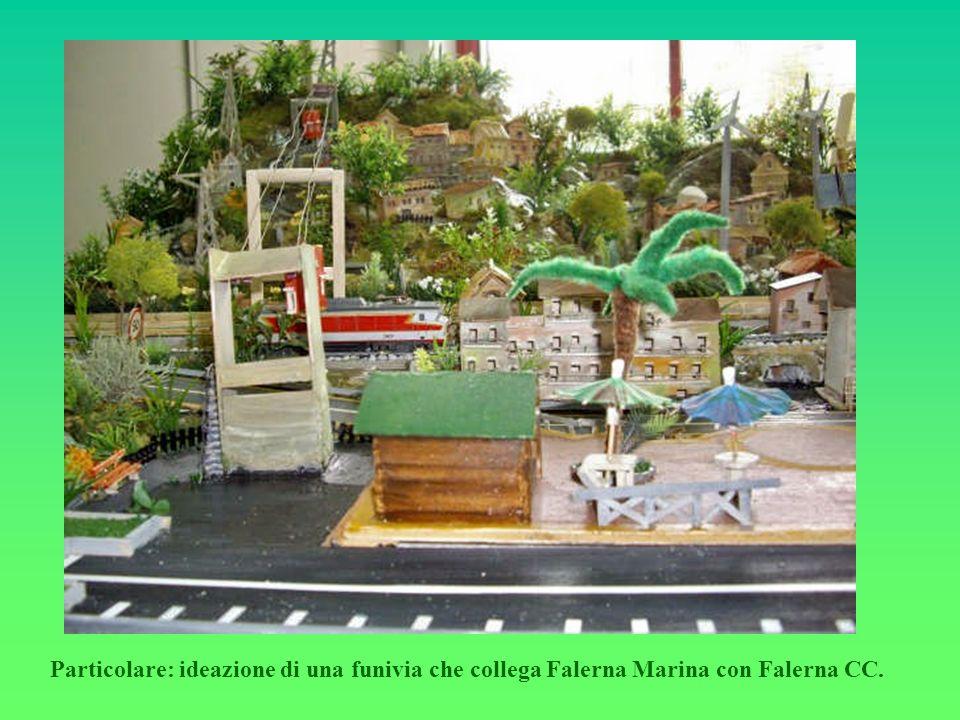 Particolare: ideazione di una funivia che collega Falerna Marina con Falerna CC.