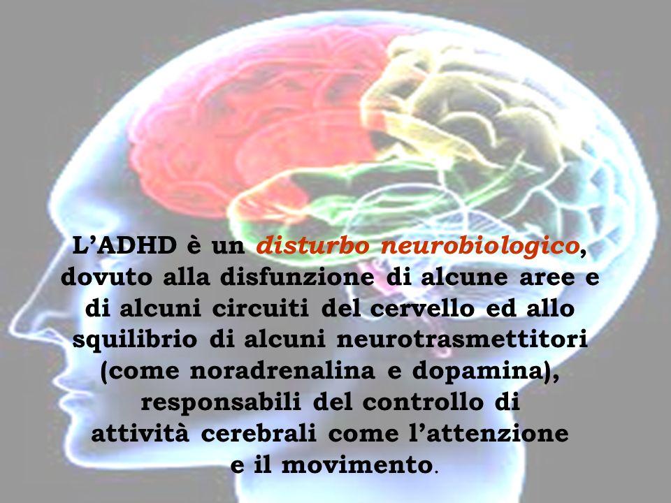 Disturbo neurobiologico www.avios.it LADHD è un disturbo neurobiologico, dovuto alla disfunzione di alcune aree e di alcuni circuiti del cervello ed a