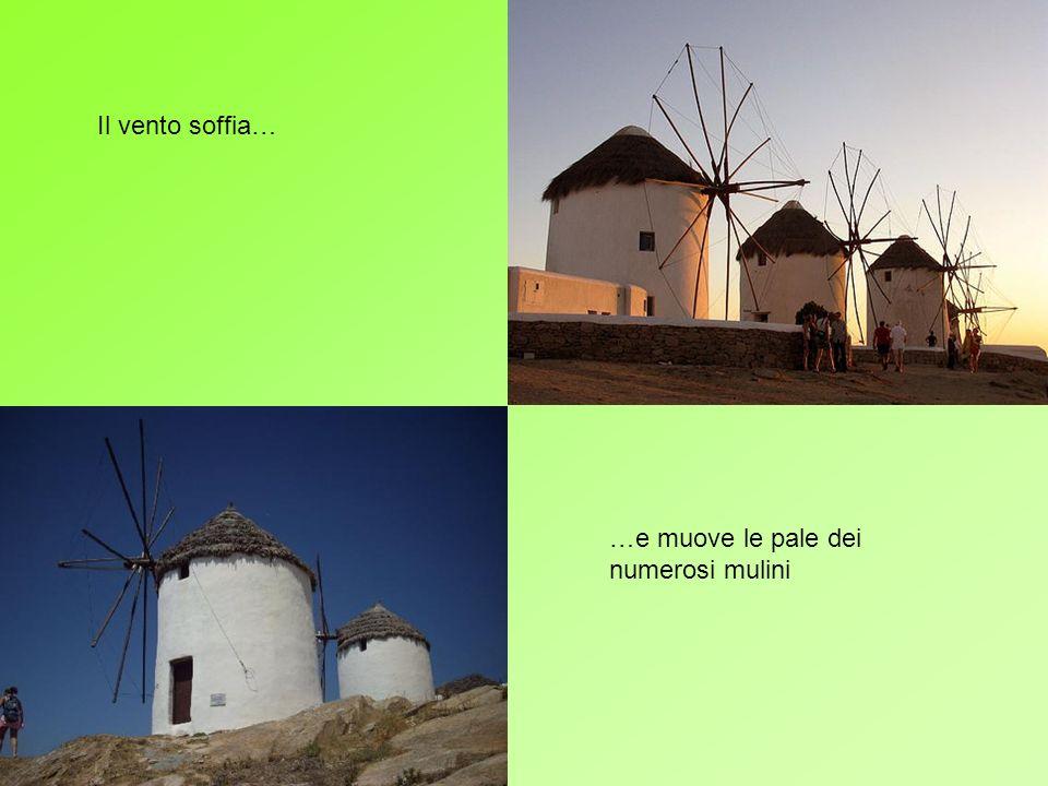 Le abitazioni tipiche delle isole greche sono… …bianche… …e… …azzurre!