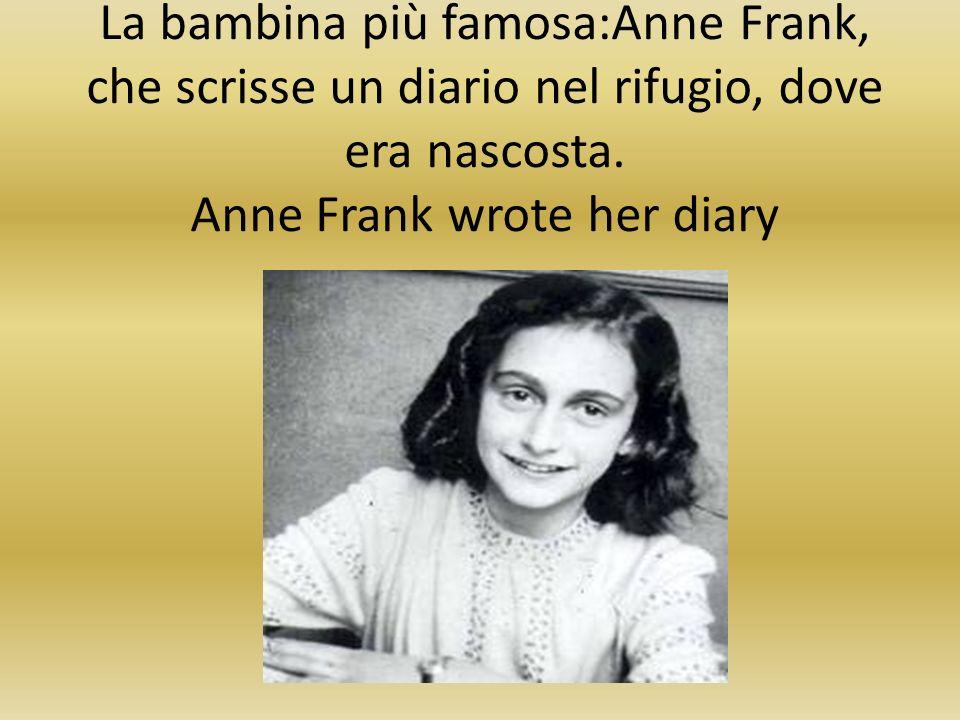 Ma alcune testimonianze sono rimaste: Otto Frank, Primo Levi,Liliana Segre … Some people tell us…
