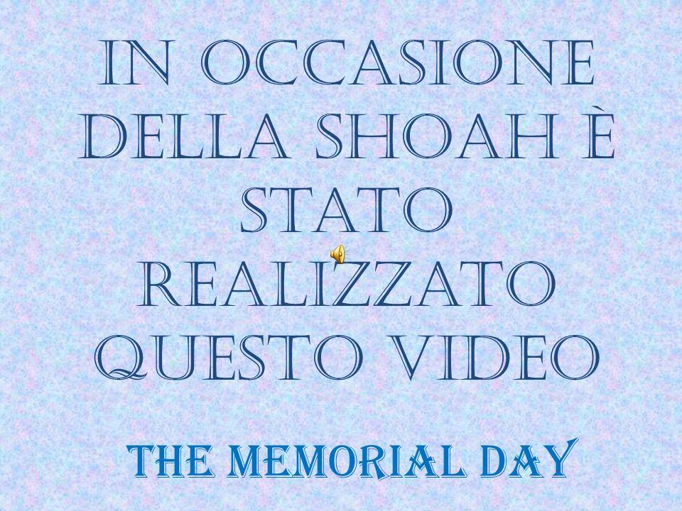 Un omaggio alla giornata della memoria dalla 1^C