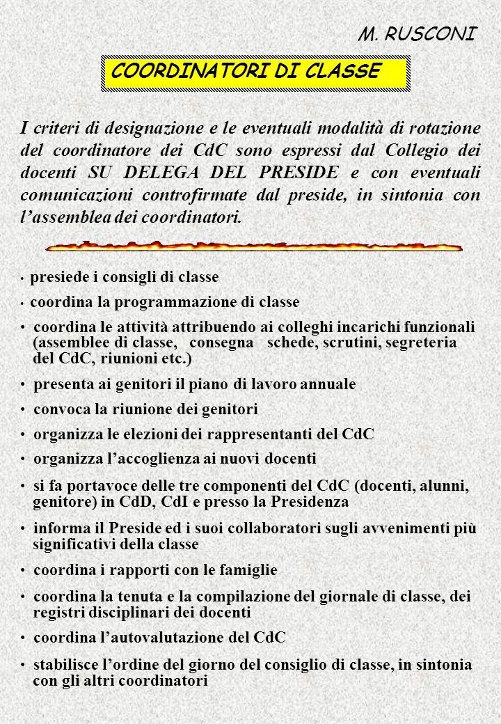 LAUTOVALUTAZIONE IN SEDUTA PUBBLICA DEL COLLEGIO DEI DOCENTI M.
