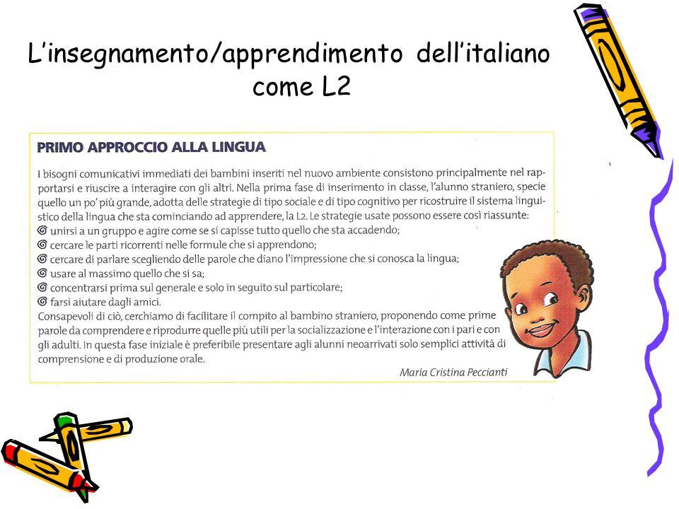 Linsegnamento/apprendimento dellitaliano come L2