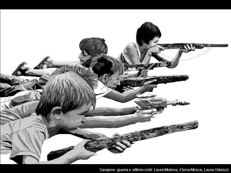Sarajevo: guerra e vittime civili: Laura Molena, Elena Mosca, Laura Odorizzi