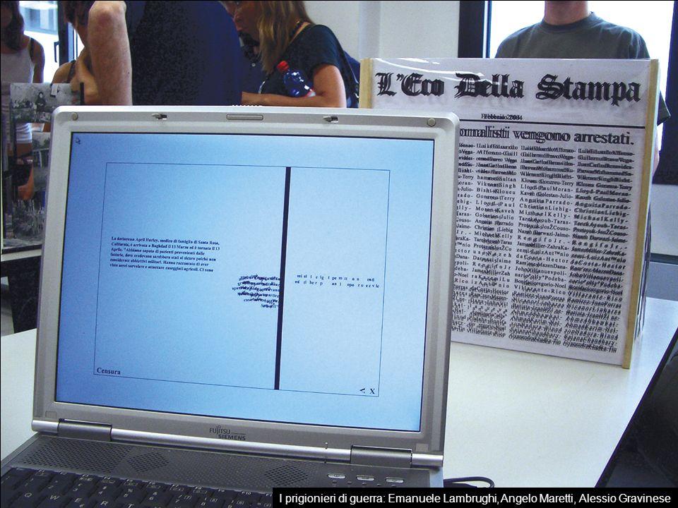 Fotografie realizzate in aula dagli studenti del Laboratorio durante il PEL (Prove dellElaborato di Laurea) del 7 luglio 2001.