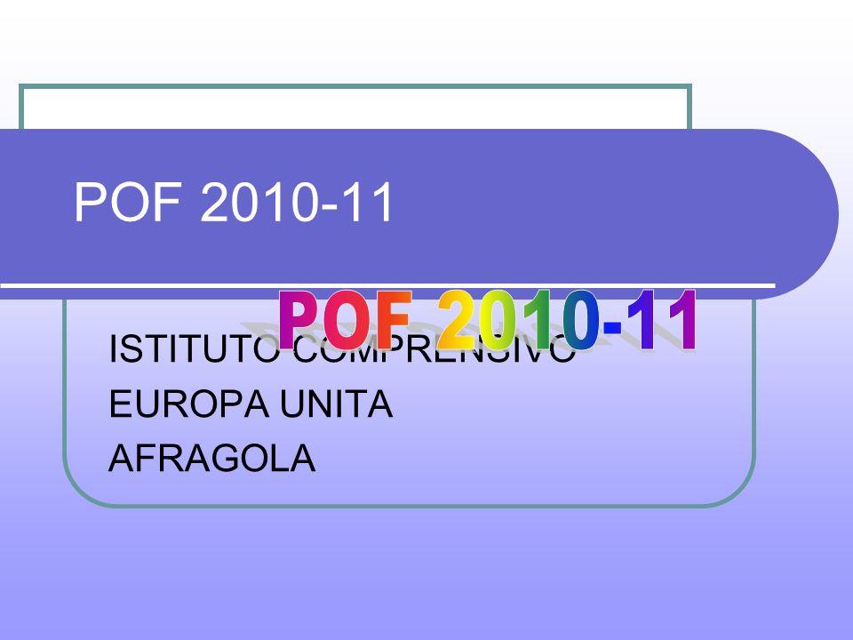 POF 2010-11 ISTITUTO COMPRENSIVO EUROPA UNITA AFRAGOLA
