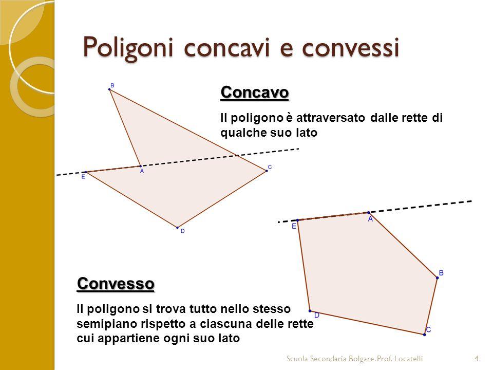 Classificare i poligoni Scuola Secondaria Bolgare.