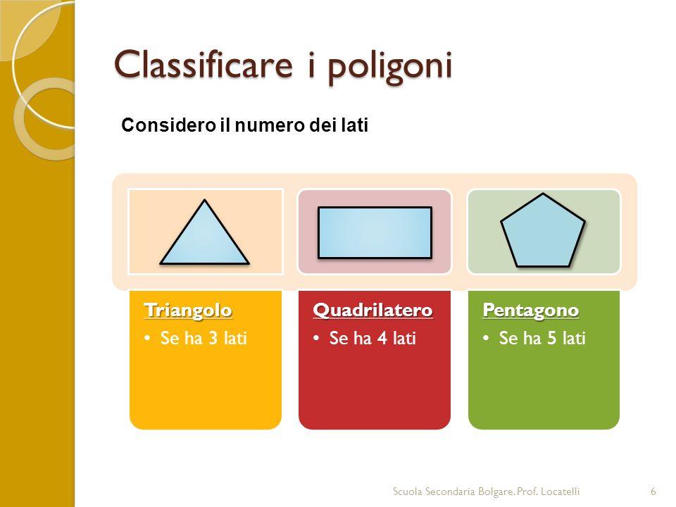 Calcolo del perimetro Scuola Secondaria Bolgare.Prof.
