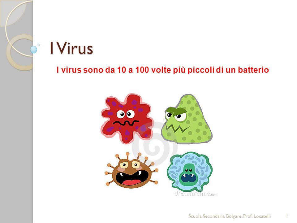 I virus sono organismi viventi.